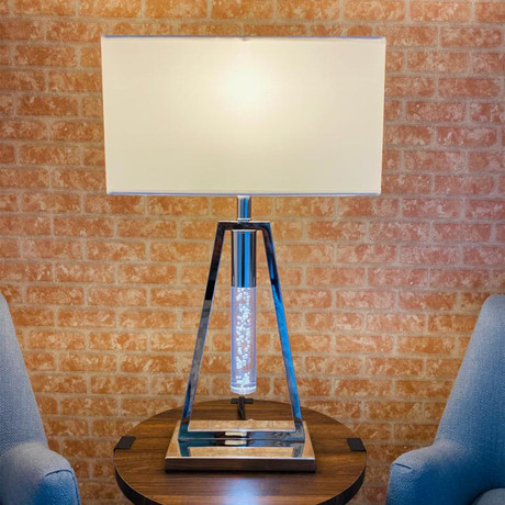 Contemporary Table Lamp // USB // 1 Light