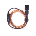 Trail Hound™ // 30-foot USB Camping Light // With Dimmer (Warm White)