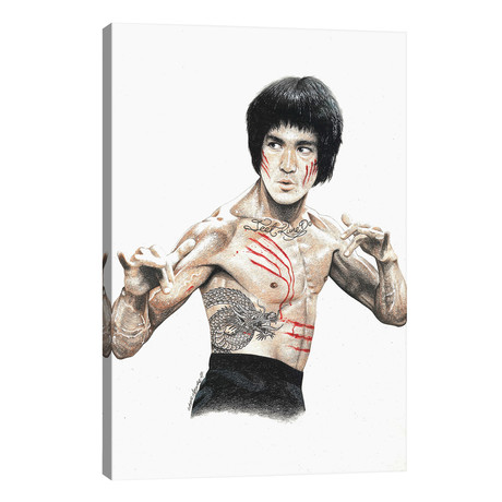 Bruce Lee // Inked Ikons