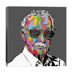 """Stan Lee // TECHNODROME1 (26""""W x 26""""H x 1.5""""D)"""