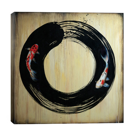 Enso With Koi // Sandi Baker