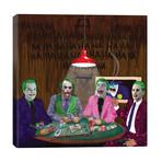 "Batman Jokers Wild // Kyle Willis (26""W x 26""H x 1.5""D)"