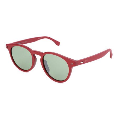 Men's M0001 Sunglasses // Red