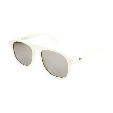 Men's M0014 Sunglasses // White + Gray