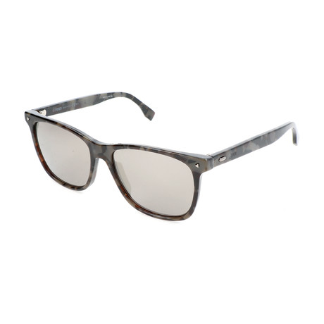 Men's M0002 Sunglasses // Dark Gray + Black + Gray