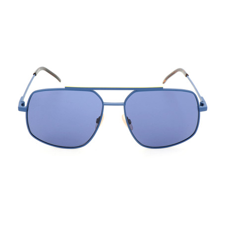 Men's M0007 Sunglasses // Matte Blue