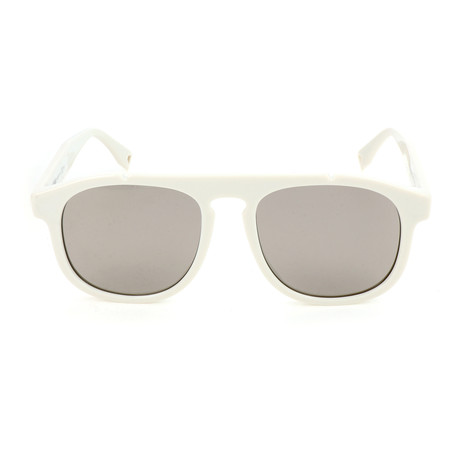 Men's M0014 Sunglasses // White + Gray