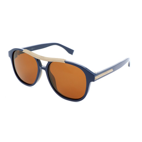 Men's M0026 Sunglasses // Blue