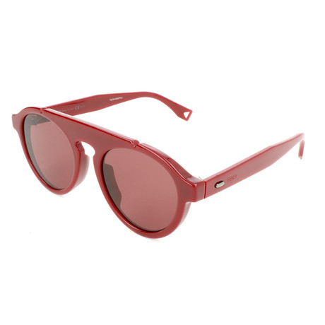 Men's M0013 Sunglasses // Red