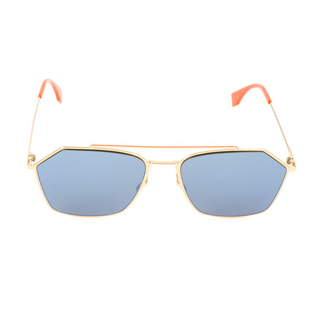 Men's M0022 Sunglasses // Gold