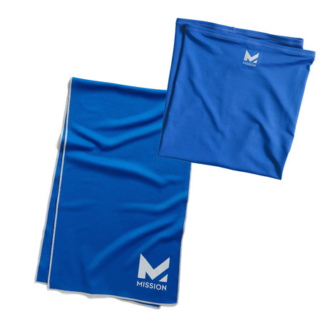 Mission Two Pack Kit // Cooling Neck Gaiter + Cooling Small Towel