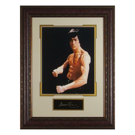 Bruce Lee // Facsimile Signature Display