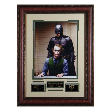 Batman Vs. Joker // Facsimile Signature Display