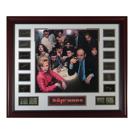 The Sopranos // Facsimile Signature Display