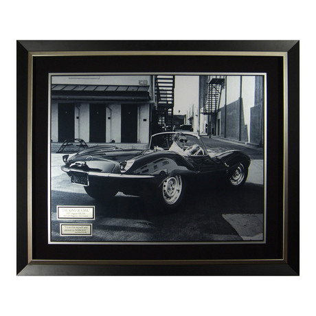 King of Cool // Steve McQueen Collectible Display // Unsigned
