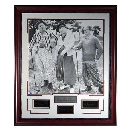 The Three Stooges // Facsimile Signature Display