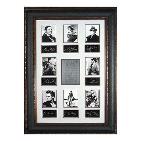 Hollywood Legends // Facsimile Signature Display