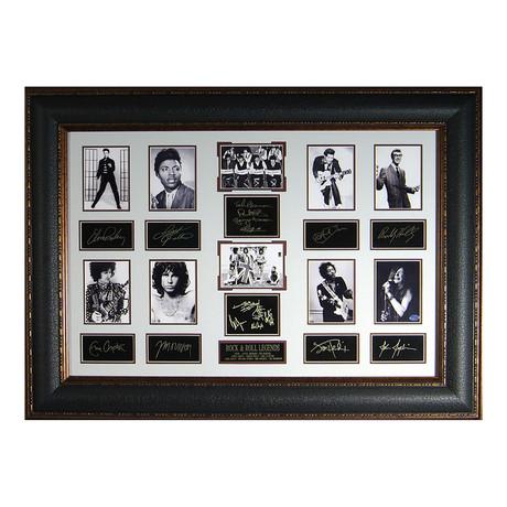 Rock & Roll Legends // Facsimile Signature Display