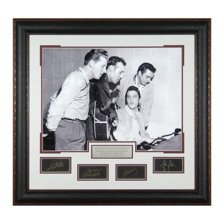 Million Dollar Quartet // Facsimile Signature Display