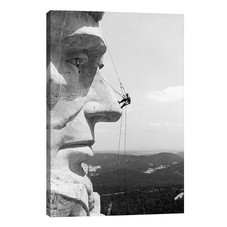 Scaling Mount Rushmore // Unknown