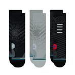 Men's Run Crew Socks // Assorted // 3-Pack (M)
