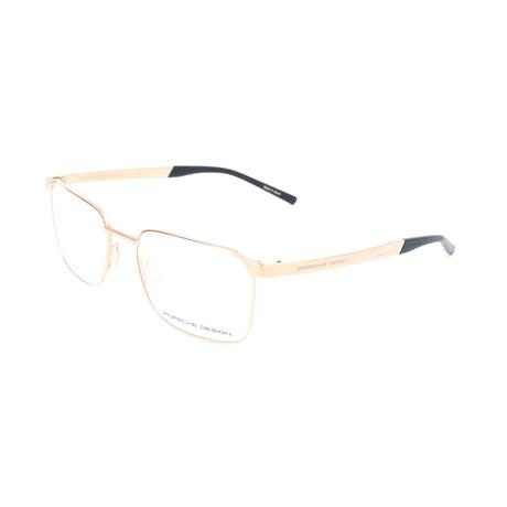 Men's P8333 Optical Frames // Gold (Size 53-17-140)