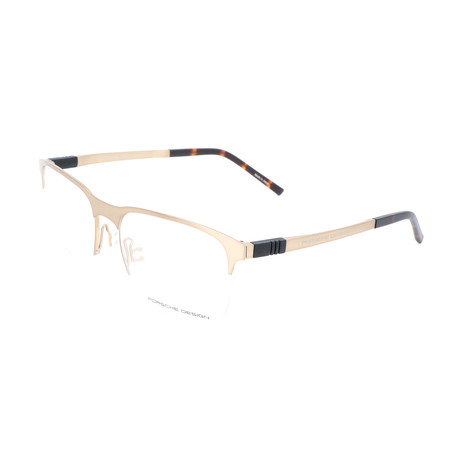 Men's P8322 Optical Frames // Gold