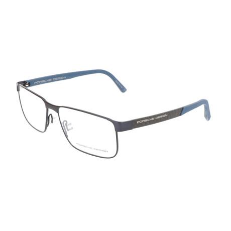 Men's P8222 Optical Frames // Blue (Size 56-15-140)