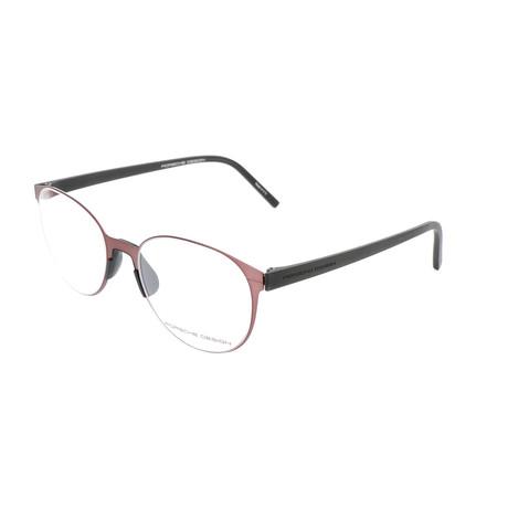 Unisex P8312 Optical Frames // Burgundy (Size 51-19-140)