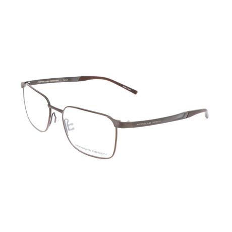 Men's P8333 Optical Frames // Dark Brown