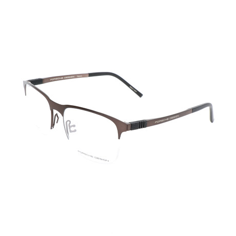 Men's P8322 Optical Frames // Brown