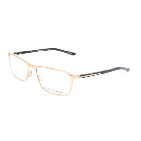 Men's P8287 Optical Frames // Gold Satin