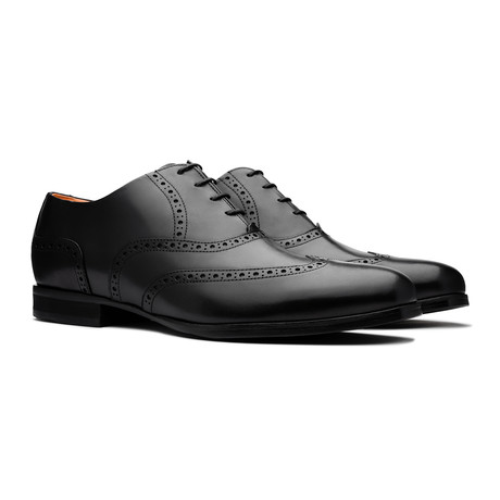 Senna Wingtip // Onyx (US Men's 6)