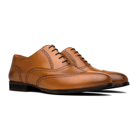 Senna Wingtip // Honey (US Men's 6)
