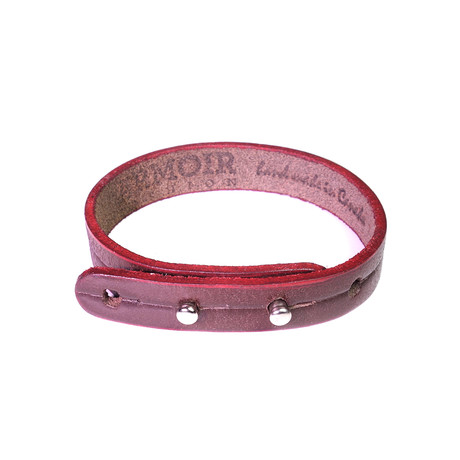 Don Collection // Leather Edge Bracelet // Brown