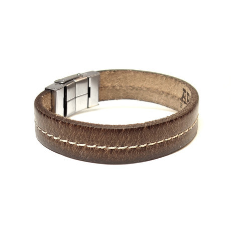 Don Collection // Leather Bracelet // Brown