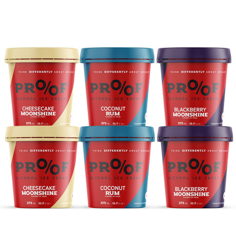 Seasonal Collection I // Alcohol Ice Cream 6 Pack