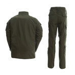 Jacket + Trousers Set // Dark Army Green (M)