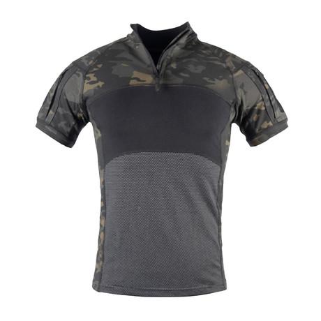 Tahoe T-Shirt // Black + Camouflage (XS)