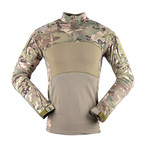 Jungle Long Sleeve Shirt // Khaki + Camouflage (3XL)