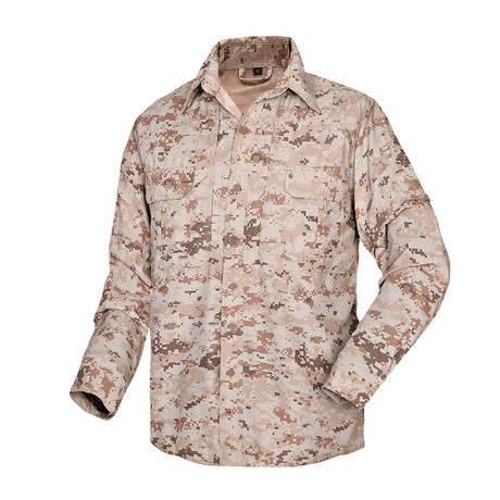 Shirt // Khaki + Camouflage (XS)