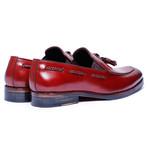 Tassel Loafers // Wine Red (US: 12)