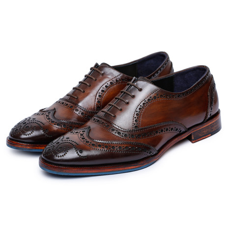 Wingtip Brogue Oxford // Dark Brown (US: 8)