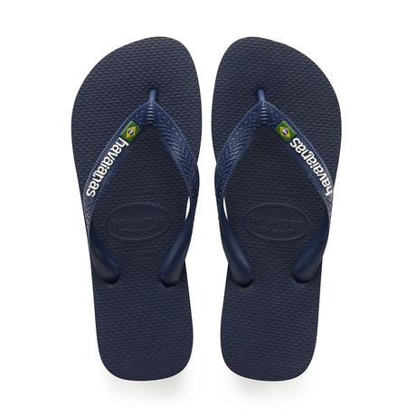 Brazil Logo Sandal // Navy Blue (US: 8)