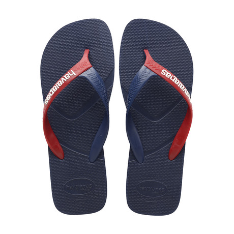 Casual Sandal // Navy Blue + Red (US: 8)