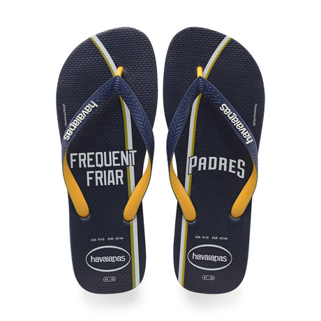 Top MLB Sandal // San Diego Padres // Navy Blue + Yellow (US: 8)