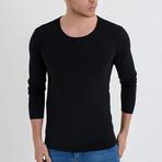 Nile Long Sleeve T-Shirt // Black (L)