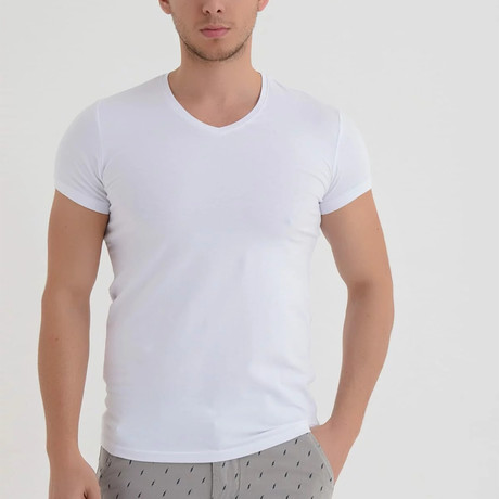 Casual T-Shirt // White (XS)