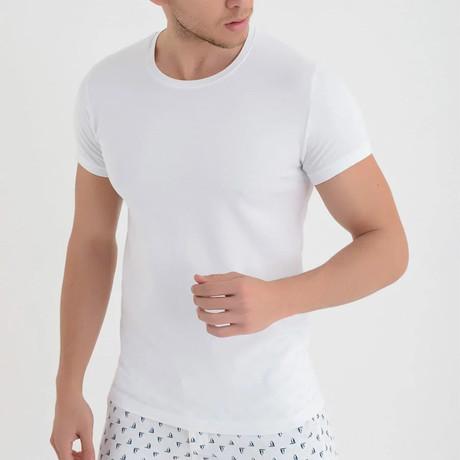 Mauna Loa T-Shirt // White (XS)