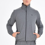 Granite Track Top // Anthracite (5XL)